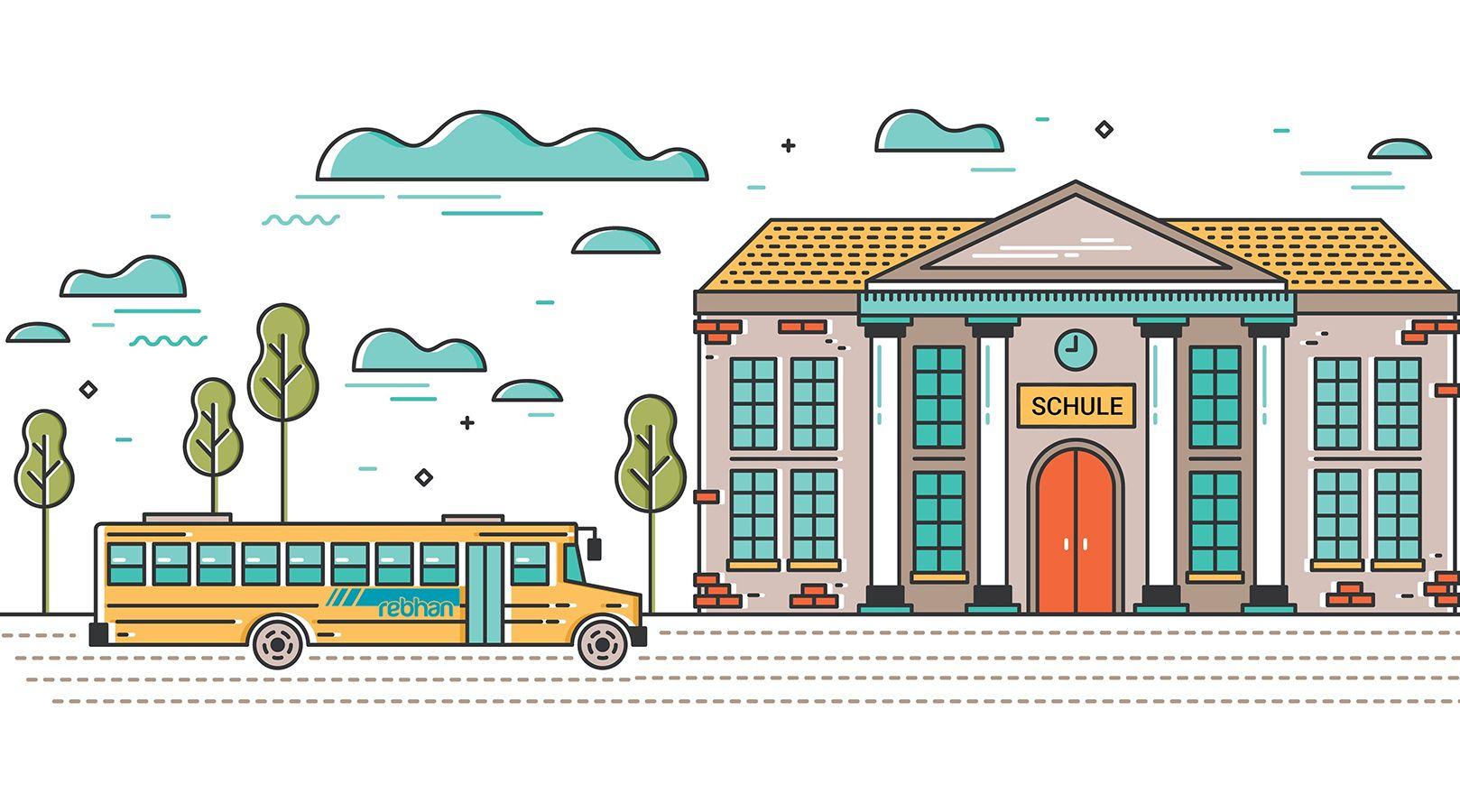 Schülertransporte mit rebhan