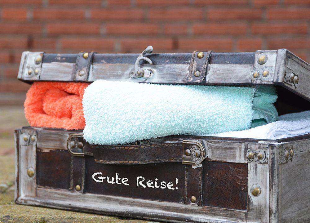 Wie packt man einen Koffer